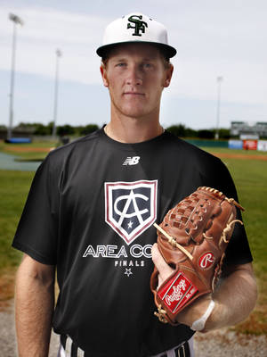 Photo - HIGH SCHOOL BASEBALL: Ty Hensley poses for a photo at Edmond Santa Fe High School in Edmond, Okla., Tuesday, May 8, 2012. Photo by Sarah Phipps, The Oklahoman Archives