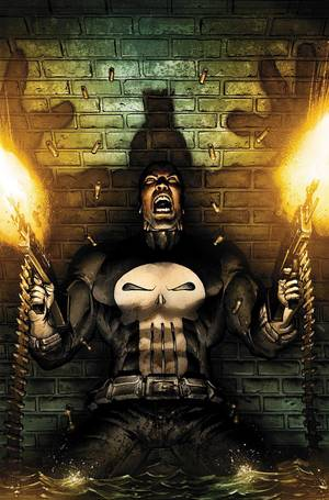 "Photo - Art from ""Punisher: Nightmare"" by Mark Texeira.  Marvel Comics. <strong></strong>"