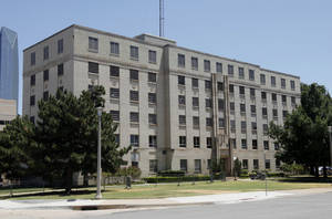 Photo - Oklahoma City is asking for proposals for redeveloping the old city jail, 200 N Shartel Ave. <strong>DOUG HOKE - The Oklahoman</strong>