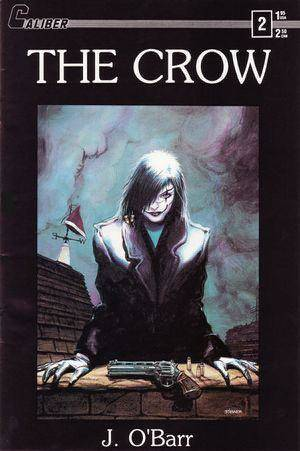 "Photo - The original cover to ""The Crow"" issue No. 2. <strong></strong>"