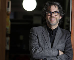 "Photo - FILE - This Dec. 6, 2010 file photo shows author Michael Chabon posings for a photo in New York.  Chabon's ""Telegraph Avenue,"" was named one of 2012's notable books by The New York Times. His first novel in five years, its release was one of the literary events of 2012.  (AP Photo/Seth Wenig, file)"