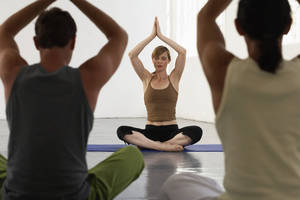 Photo - Yoga classes will be offered at the Oklahoma City Museum of Art in 2014. <strong>Getty Images</strong>