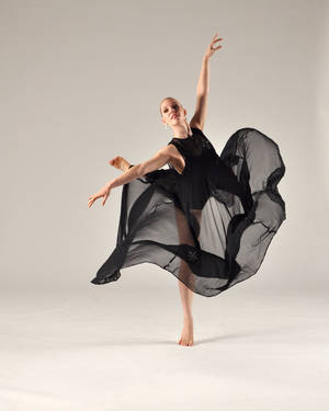 photo - Renee Beneteau, a recent graduate of the OU School of Dance, is shown performing with Contemporary Dance Oklahoma. (Photo provided)