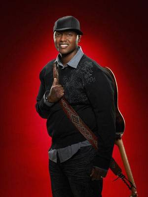 "Photo - Javier Colon, a smooth-voiced family man from Stratford, Conn., was named the inagural winner of the hit NBC reality series ""The Voice"" Wednesday night during the show's hour-long season finale. NBC photo <strong></strong>"
