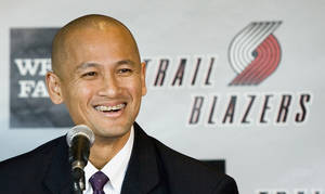 Photo - Former Thunder assistant general manager Rich Cho was named the Portland Trail Blazers' new GM on Monday. AP PHOTO
