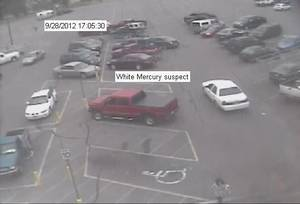 photo - A man robbed a City National Bank Friday afternoon inside a Walmart, 2400 S Country Club Road in El Reno, the FBI reports. He drove away in a 1998 to 2002 white Mercury Marquis. <strong> - Photo provided by FBI</strong>