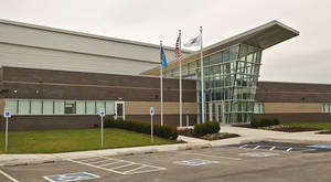 photo - The outside of the Oklahoma City Thunder practice facility is shown. Photo by CHRIS LANDSBERGER, The Oklahoman