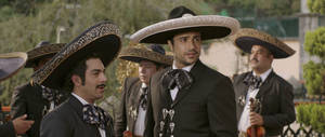 "Photo - Jaime Camil, center, stars in ""Pulling Strings."" <strong></strong>"
