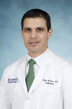 Photo - Dr. Ryan Brown, an emergency pediatric physician at The Children's Hospital <strong>Provided</strong>