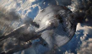 "Photo - The Enterprise takes a beating in the sequel ""Star Trek Into Darkness."" Paramount Pictures photo <strong></strong>"