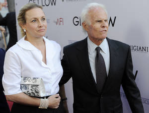"Photo -   FILE - In this July 27, 2010 file photo, producer, Richard Zanuck, and his wife Lili Fini Zanuck arrive at the premiere of the film ""Get Low"" in Beverly Hills, Calif. According to his publicist, Richard D. Zanuck has died at age 77 in Los Angeles on Friday, July 13, 2012. He won an Oscar for best picture for his film, ""Driving Miss Daisy."" (AP Photo/Chris Pizzello, File)"