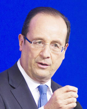 photo - French president Francois  Hollande