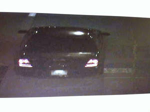 photo - Surveillance photo of a vehicle that may have been used in the attempted robberies. Photo provided