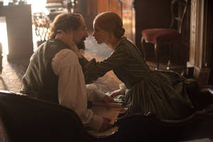 "Photo - Ralph Fiennes and Felicity Jones star in ""The Invisible Woman."" <strong>David Appleby</strong>"