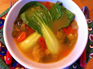 Photo - This soup was created with cold and flu season in mind, but sickness is not required to enjoy it. <strong>SHERREL JONES - THE OKLAHOMAN</strong>