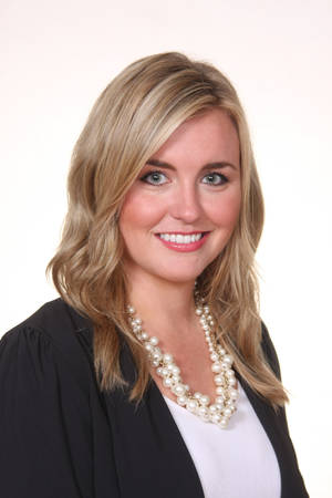 Photo -  Lauren Harris A banking officer with First Fidelity Bank  <strong></strong>