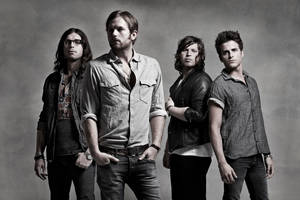 "Photo - Grammy-winning rockers Kings of Leon, who have Oklahoma ties, will perform at ""Rock for Oklahoma,"" a July 23 tornado benefit concert at Chesapeake Energy Arena. Photo provided. <strong></strong>"