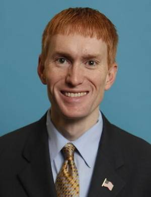 photo - James Lankford, a candidate in Oklahoma's 5th Congressional District's GOP primary, in Oklahoma City. AP Photo