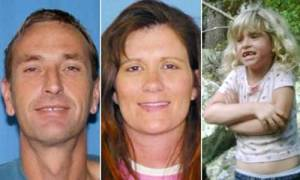 Photo - Bobby and Sherrilynn Jamison and their daughter Madyson, 6, of Eufaula, were last seen Oct. 9, 2009. Their pickup was found near Red Oak on Oct. 17, 2009, the Latimer County sheriff's department reported. <strong></strong>