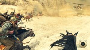 photo -   This video game image released by Activision shows a scene from &quot;Call of Duty: Black Ops II.&quot; (AP Photo/Activision)  