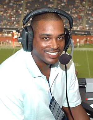 Photo - Andre Ware will broadcast SEC football games this season on ESPN Regional's SEC Network.  Photo provided