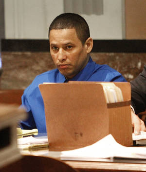 photo - Murder defendant Noel Montes Sosa is seen Wednesday in court at the Oklahoma County Courthouse. Photo By Steve Gooch, The Oklahoman