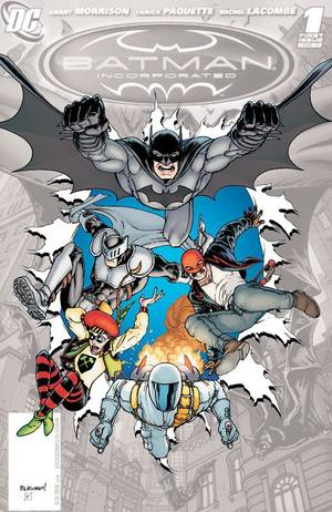 "Photo - Promotional art for ""Batman, Incorporated"" number zero. DC Comics"