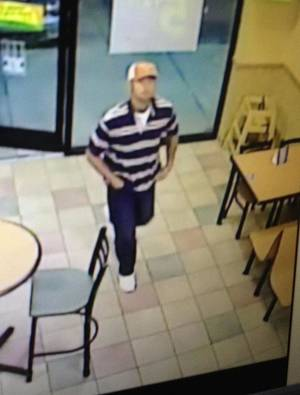Photo - Oklahoma City police are looking for a man who robbed a Subway restaurant at 2815 NW 10 on Sunday. <strong>PROVIDED</strong>