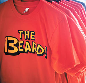 Photo - Thunder-theme T-shirts are displayed at Tree & Leaf Clothing in Oklahoma City. Photo by SARAH PHIPPS, THE OKLAHOMAN