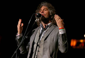 Photo - Wayne Coyne, of The Flaming Lips