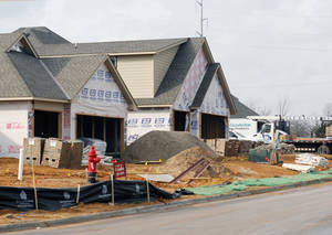 Photo - Two streets of new homes are being built in the Hampden Hallow neighborhood.