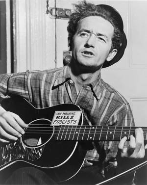 Photo - Woody Guthrie
