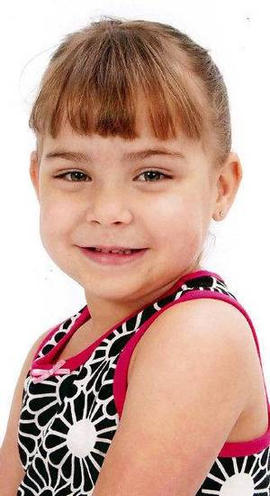 photo - Serenity Anne Deal, 5. died of child abuse. Her father, Sean Devon Brooks, 31, was charged in Oklahoma County District Court with first-degree murder and felony child abuse.Provided ORG XMIT: KOD