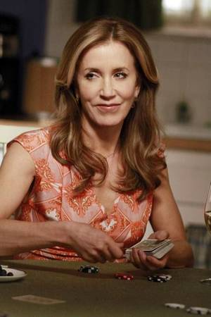 "Photo - Felicity Huffman stars in the two-hour series finale of ABC's ""Desperate Housewives,"" 8 p.m. Sunday. ABC Photo"