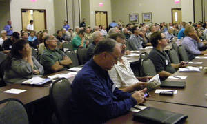 Photo - Homebuilders and others listen during a training session during last year's building summit. <strong> - PROVIDED</strong>