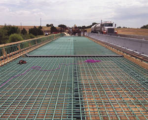 photo - Interstate 40 bridge repairs overseen by Atkins.  PHOTO PROVIDED BY ATKINS