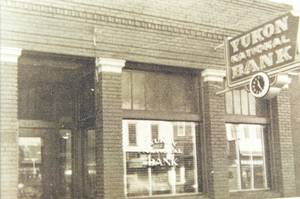 Photo - Yukon National Bank has been a fixture in the Canadian County city for a century.