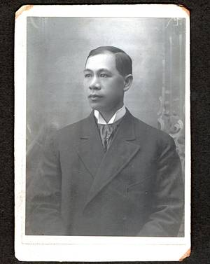 Photo - This undated family photo shows Hong Yeng Chang. Chang was an Ivy League graduate thought to be the first Chinese-born, United States-trained lawyer when the California Supreme Court denied his application to practice law in a 1890 decision. Now, students at a Northern California law school hope to persuade the current court to reverse the 124-year-old decision that is still studied in law schools. (AP Photo/Chang Family)