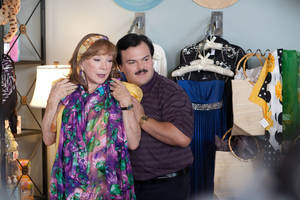 "Photo - Shirley MacLaine and Jack Black star in ""Bernie."" Millennium Entertainment photo"