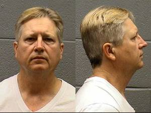 photo - James Allen O'Berry O'Berry, 55, shown in a 2010 mug shot, pleaded guilty to first-degree murder in the death of Nelly Pelts near her Midwest City church.