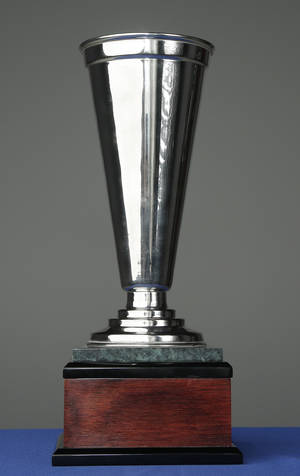 photo - The Hunger Cup, that will be presented by Feed the Children during the Bedlam Challenge, Friday, November 9, 2012. Photo by Doug Hoke, The Oklahoman
