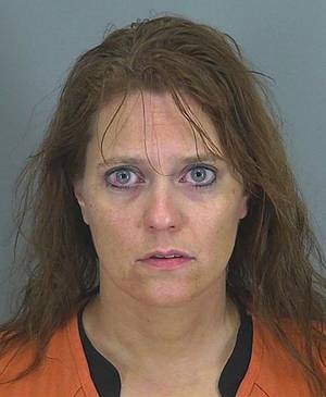 Photo - This undated photo provided by the Spartanburg County Prosecutor's office shows Stephanie Greene. Greene, 39, faces 20 years to life in prison when she is sentenced for killing her 6-week-old daughter with what prosecutors say was an overdose of morphine delivered through her breast milk. (AP Photo/Spartanburg County Prosecutor's office)