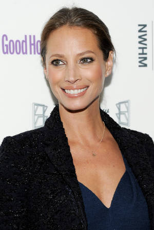 "Photo -   FILE - In this April 12, 2011 file photo, model Christy Turlington attends Good Housekeeping's 'Shine On' Women Making History theatrical event at Radio City Music Hall in New York. Burns aims to honor mothers by laying low on Mother's Day. Her No Mother's Day Mother's Day is a way to draw attention to maternal mortality, the cause at the heart of the Every Mother Counts advocacy campaign she founded in 2010. It's also a way to get back to the basics and, hopefully, cut through ""all the noise"" that now comes with a holiday that the National Retail Federation estimates will come with an $18.6 billion price tag in spending by Americans this year. (AP Photo/Evan Agostini, file)"