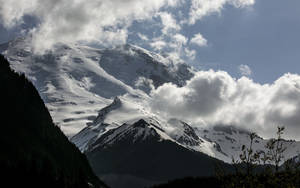 Photo - Mount Rainier as seen from the White River Campground, where six missing climbers attempting to summit, went missing and are believed dead after search attempts were suspended Saturday, May 31, 2014. (AP Photo/The Seattle Times, Bettina Hansen)