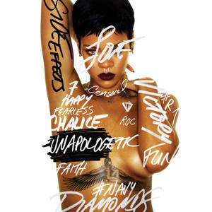 "Photo -   This CD cover image shows the latest release by Rihanna, ""Unapologetic."" (AP Photo/Island Def Jam Music Group)"