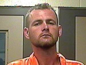 photo - James Isaac South, 35, was arrested Monday night in connection to a Pottawatomie County homicide. <strong></strong>