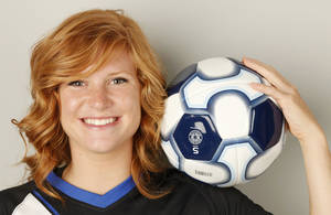 Photo - GIRLS HIGH SCHOOL SOCCER: All-City girls soccer player of the year, Deer Creek's Madi Smith in Oklahoma City, Tuesday, May  29  2012. Photo By Steve Gooch, The Oklahoman
