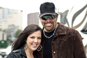 Photo - Krystal Keith and Toby Keith. Photo provided. <strong></strong>