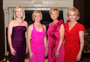 Photo - Honorees Connell Branan, Tricia Everest, Jane Thompson, Linda Rodgers.  PHOTO BY DAVID FAYTINGER