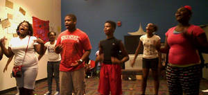 photo - Members of The Vision gospel choir at the Boys &amp; Girls Club of Oklahoma County, 3535 N Western, sing during a practice session on Tuesday. PHOTO BY CARLA HINTON, THE OKLAHOMAN